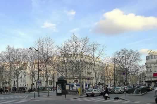 La place Maubert